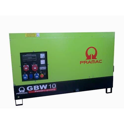 Pramac Elverk GBW10Y 3-fas diesel tystgående