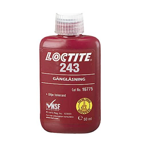 Loctite Gänglåsning 243 50 ml flaska
