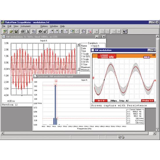 Fluke Programvara Fluke View ScopeMeter