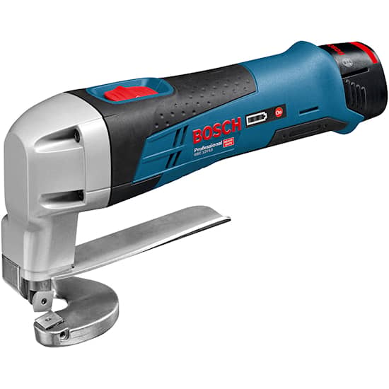Bosch GSC 12V-13 2X2,0Ah L-Boxx Plåtsax