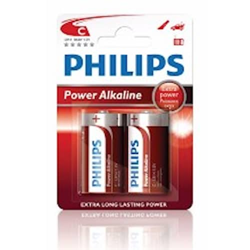 Philips Batteri Philips C 1,5V LR14 2-pack