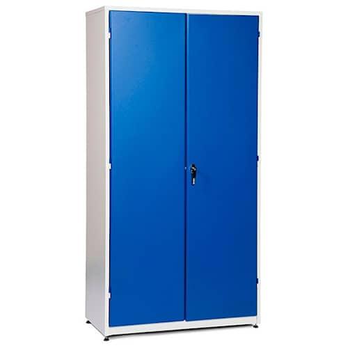 GBP Verkstadsskåp 1020x540x2000mm, beige/blå