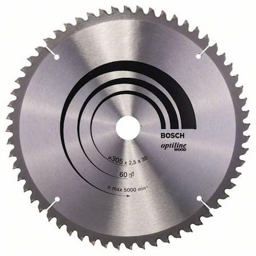 Bosch Sågklinga Optiline Wood 305x2,5x30mm 60T