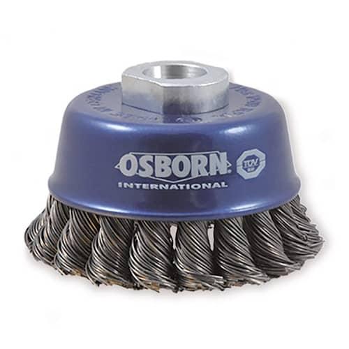 Osborn Axialborste virad rostfri tråd 65x0,35mm M14 gänga