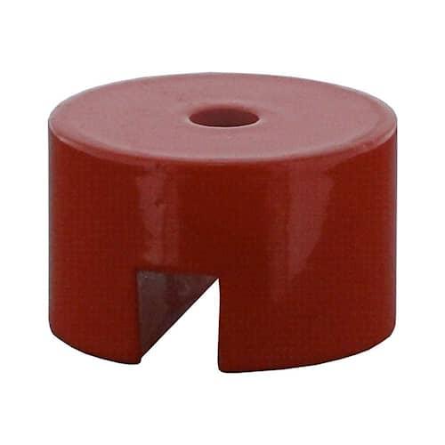 Fortis Magnet AlNiCo 31,8x25,4mm, hål 7,0mm