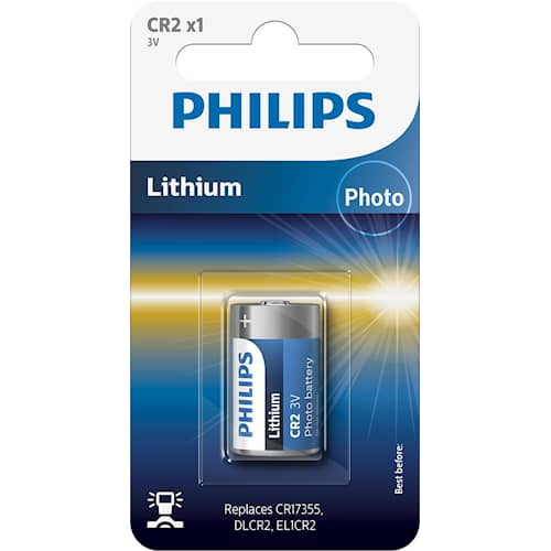 Philips Battericell Lithium CR1220
