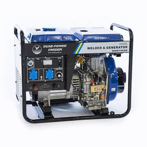DUAB-POWER Motorsvets MDW180AE 1-fas Mellga diesel