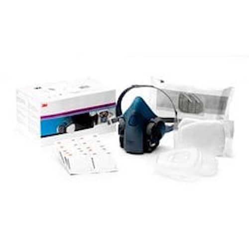 3M Starterkit för andningsskydd, A2P2 R Filter, Mellanstor halvmask, 06782