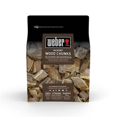 Weber Smoking wood chunks 17619 Hickory
