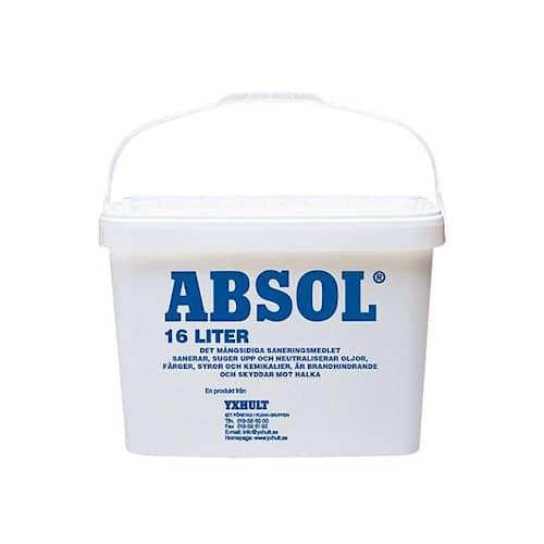 Absol Absorberingsmedel Absol Blå Hink 16 liter