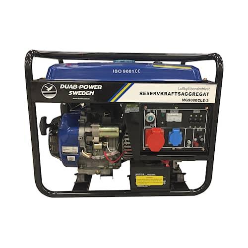 DUAB-POWER Elverk MG9000CLE-3 1-fas/3-fas bensin