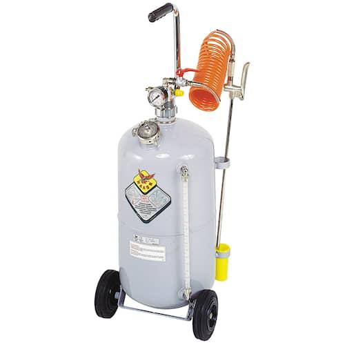 Raasm Kempåläggare tryckluft Rostfri 24 liter