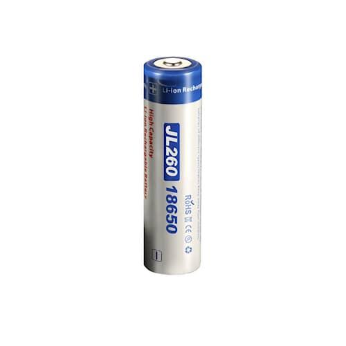 Niteye Batteri 18650 Li-Ion 3,7V 2600 mAh