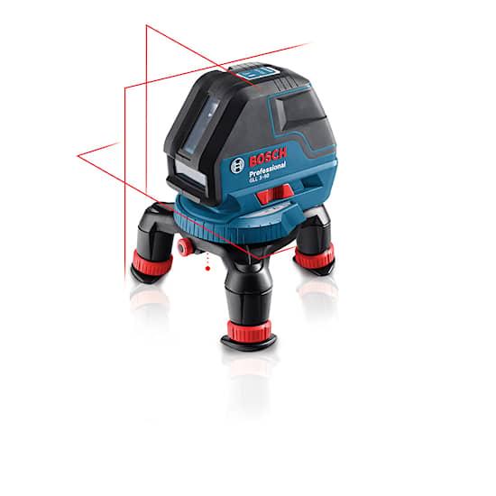Bosch Gll 3-50P M/Bm1/L-Boxx Linjepunktlaser