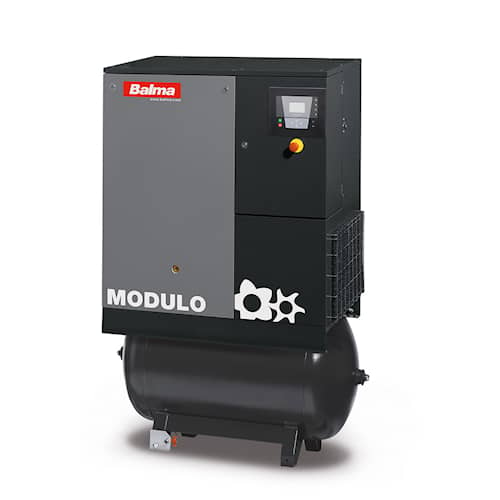 Balma Skruvkompressor MODULO I E 11 13 bar 270 l Inverter med kyltork
