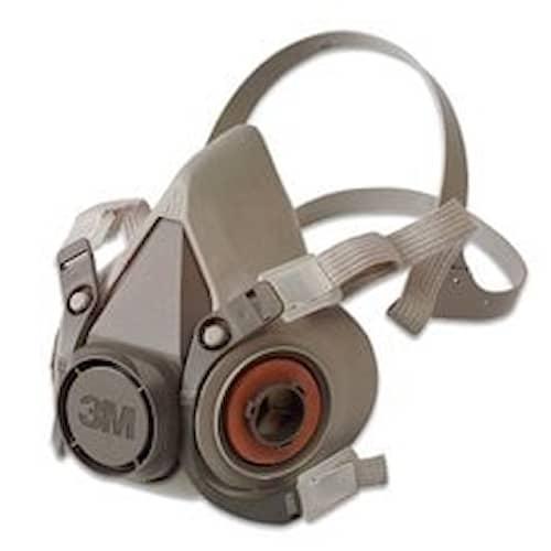 3M Återanvändbar halvmask, Small, 6100