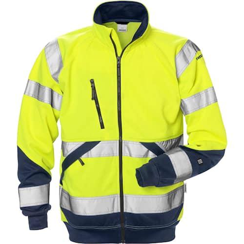 Fristads Sweatshirt-jacka 7426 SHV, Klass 3