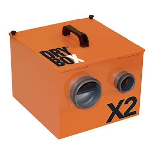 Drybox Krypgrundsavfuktare X2