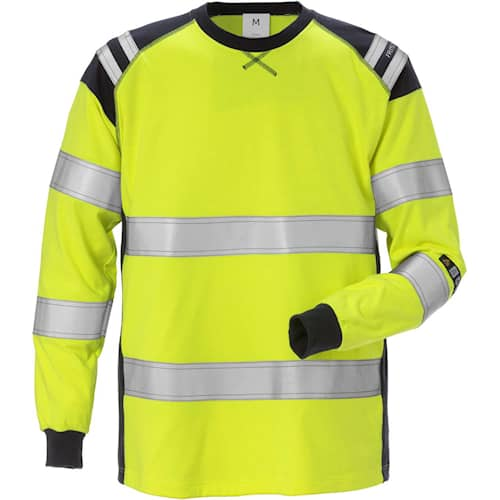 Fristads T-shirt långärmad Flamestat 7077 TFLH, Klass 3