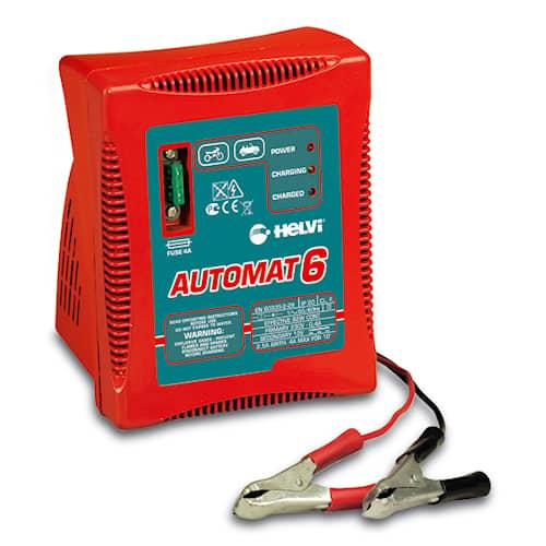 Helvi Batteriladdare Automat 6 12V 4A