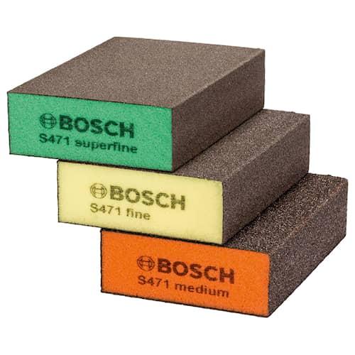 Bosch Slipsvamp Plan 69x97x26mm 3-pack