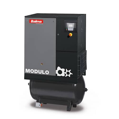 Balma Skruvkompressor MODULO E 15 10 bar 270 l med kyltork