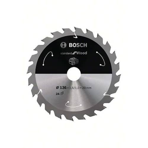 Bosch Sågklinga Standard for Wood 136×1,5/1×20mm 24T
