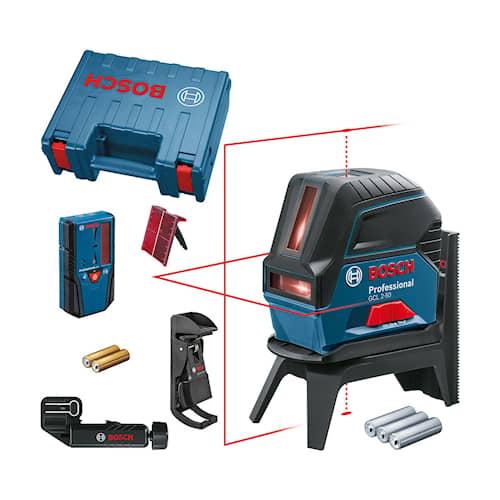 Bosch Kombilaser GCL 2-50 RM2/LR6/CASE