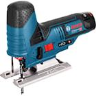 Bosch Sticksåg GST 12V-70 med 2st 3Ah batteri, tillbehörssats i L-BOXX